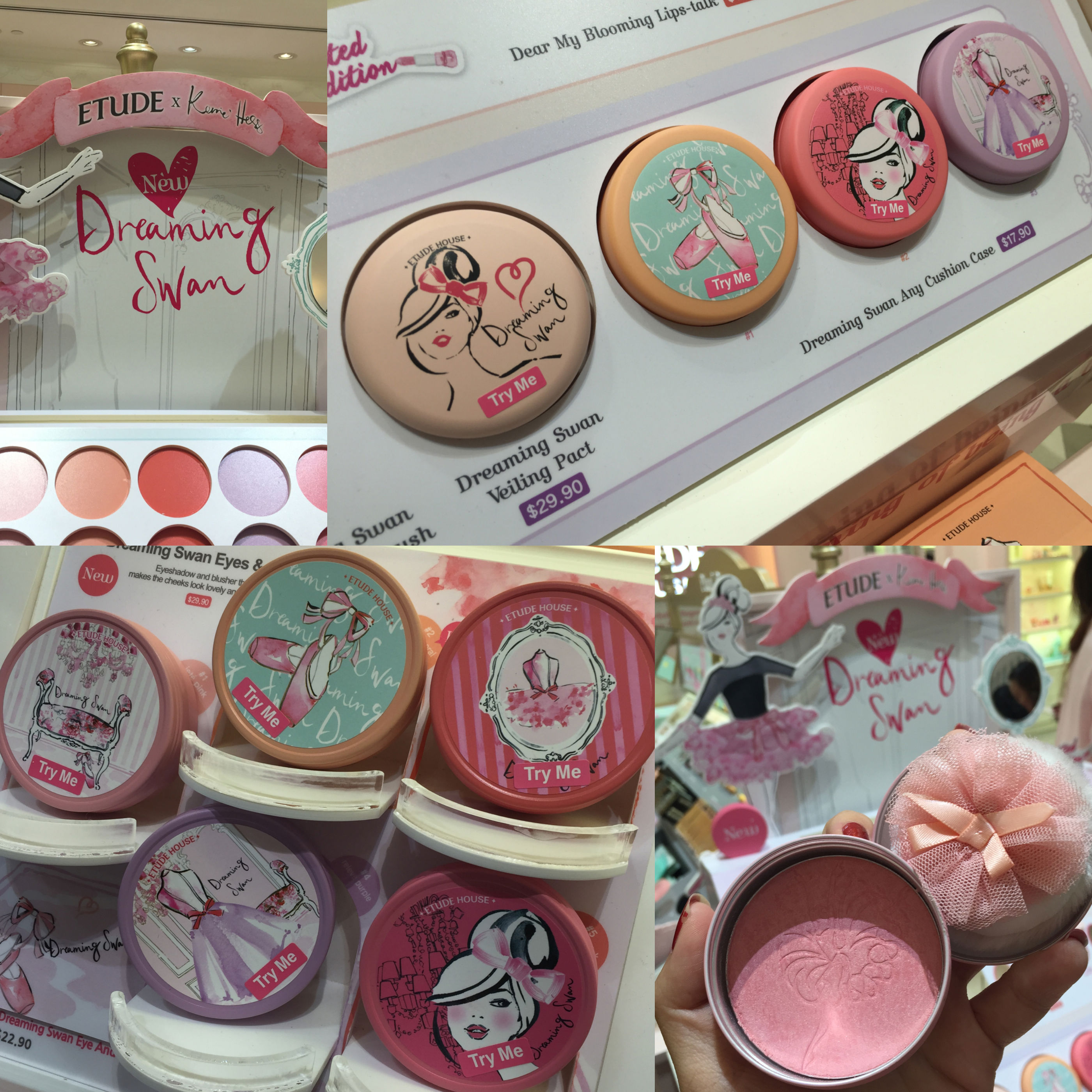 Ballerina Dreams with ETUDE HOUSE Dreaming Swan Collection ...