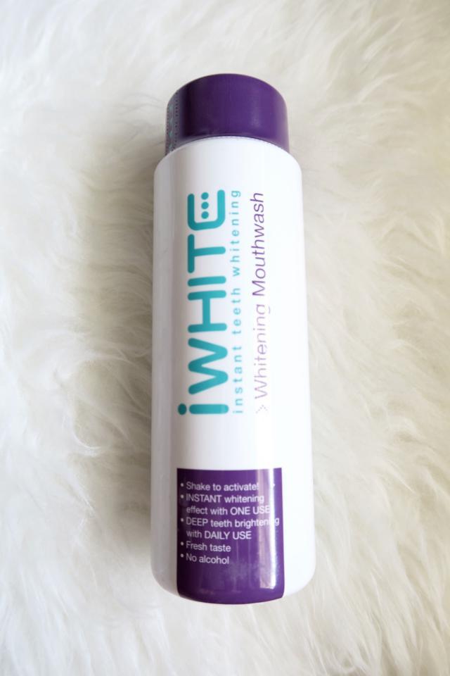 IWhite Mouthwash Toothpaste Whitening Blog Review_0002