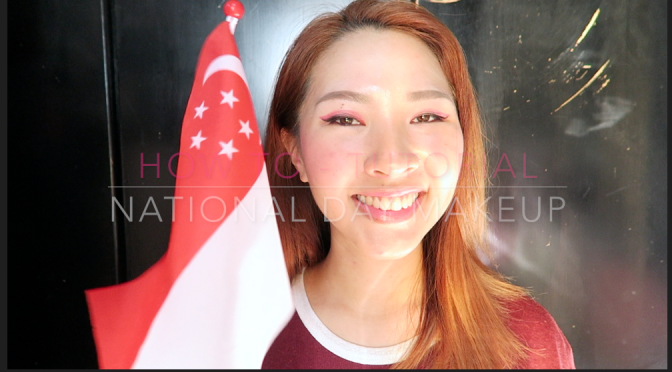 Ena's Beauty Talk | SG National Day Makeup Tutorial