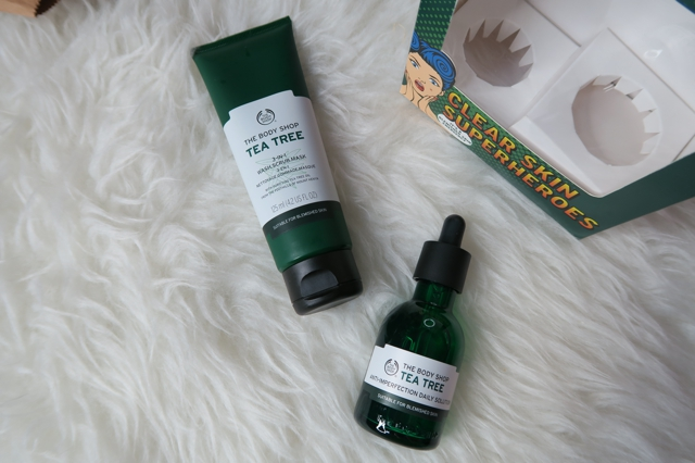 The Body Shop Tea Tree Wash Scrub Mask and Daily Solution Review Enabalista_0004